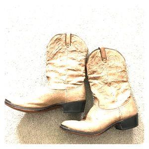 Durango Other - Durango men's cowboy boots tan sz 11 1/2 leather