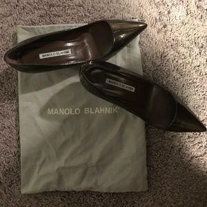 Manolo Blahnik Shoes - NEW Manolo blahnik