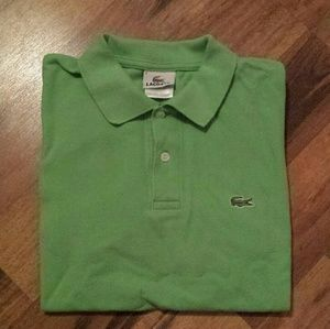 Lacoste Other - Mens Lacoste Polo Shirt size 4 (Medium)