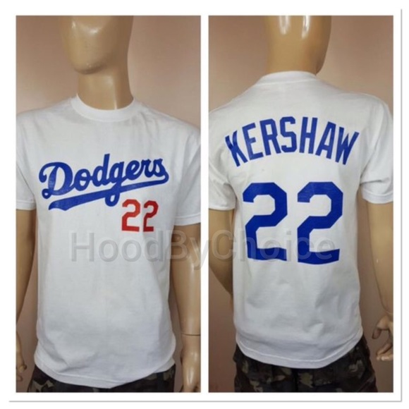 AAA Shirts | Men Dodgers Kershaw 22