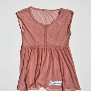 Love Squared Tops - Love squared cute FESTIVAL top blouse shirt SIZE M