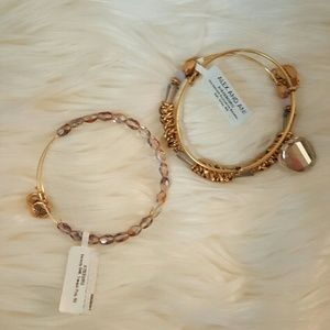 Alex & Ani Accessories - Host Pick🎉🎊NWT* Alex & Ani Bracelets * Set of 2*