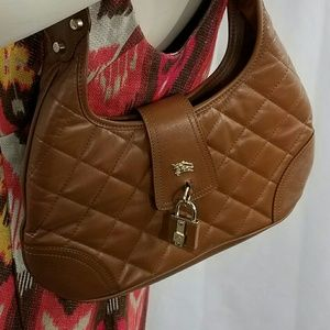 Burberry Handbags - Authentic Burberry shoulder bag and perfume