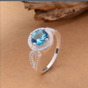 A Dream Come True Jewelry - ✅JUST IN✅ Beautiful 925 Sterling Topaz Ring
