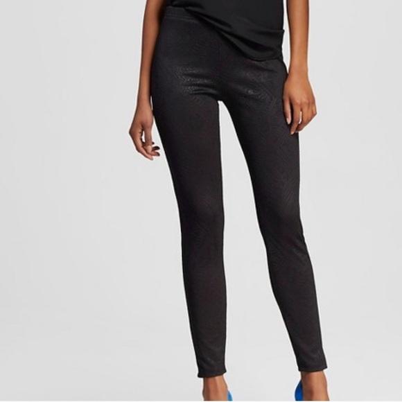 00819b534beed Xhilaration Pants   Nwt Large Embossed Black Leggings   Poshmark