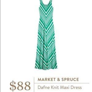Market & Spruce Dresses & Skirts - Market & Spruce Stitch Fix Chevron Maxi