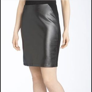 Alberto Makali Dresses & Skirts - New Alberto Makali faux-leather skirt