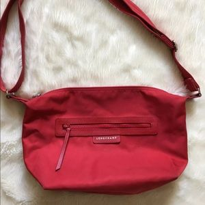 LONGCHAMP | red Le Pliage Neo Crossbody bag