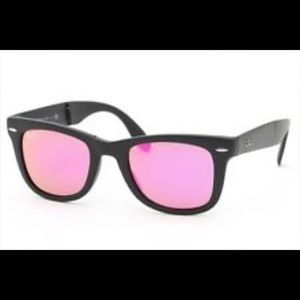 ray ban Accessories - Pink Lens RB Sunnies