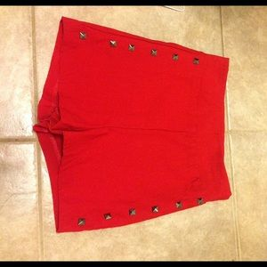 Charlotte Russe Other - Red Charlotte Russe shorts size small