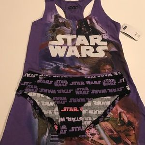 Other - NWT TANK&PANTY SET STAR WARS