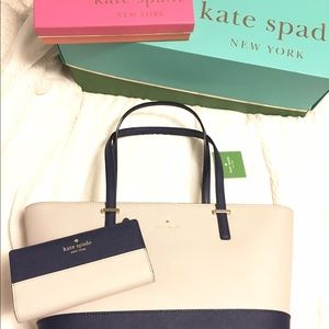 *Brand New* Kate Spade | Tote & Wallet Set