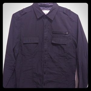 Sovereign Code Other - Sovereign Code black military look dress shirt.