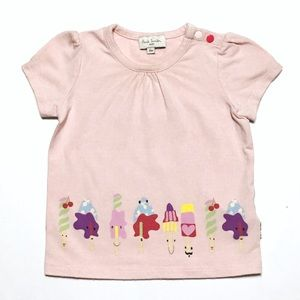 Paul Smith Junior Other - Paul Smith Baby Pink Popsicle Tee
