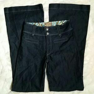 Rich & Skinny Denim - Rich & Skinny High Waisted Wide Leg Trouser Sz 27