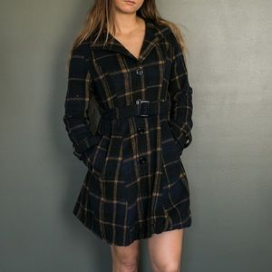 ROMWE Jackets & Blazers - Fleece Peacoat