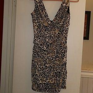 24th & Ocean Dresses & Skirts - Beautiful animal print Sel'e Dress. NWOT.