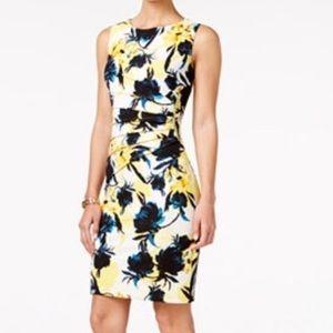 Ivanka Trump Dresses & Skirts - ➕🌼Ivanka Trump Yellow Floral Dress style1 NEW
