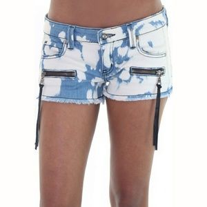 Frankie B. Pants - Frankie B Battlefield Denim Shorts