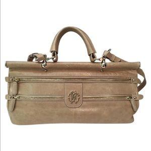 Roberto Cavalli Handbags - AUTHENTIC Roberto Cavalli Beige Crossbody