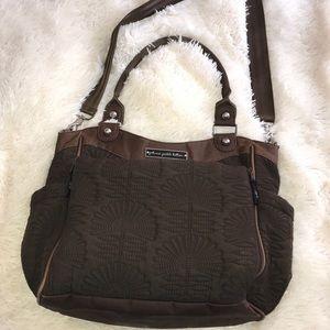 Petunia Pickle Bottom Handbags - Petunia pickle bottom brown diaper bag