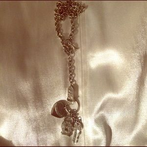 Juicy Couture lariat style necklace