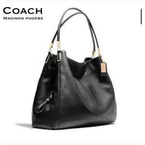 Coach Handbags - COACH. Authentic. Madison Phoebe. Large. Leather.