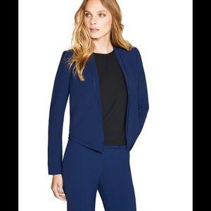 White House Black Market Jackets & Blazers - 🆕 WHBM cropped soft drape jacket Noble Blue