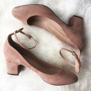 Who What Wear Shoes - - WHO WHAT WEAR - Ankle Strap Heels Blush