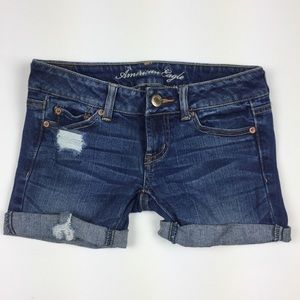 American Eagle Outfitters Pants - American Eagle Favorite Boyfriend Cuffed Short 00