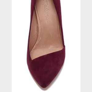 Madewell Mira Suede Flats
