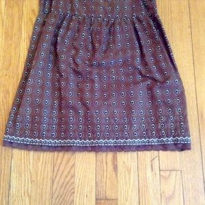 Juicy Couture Tops - Juicy Couture Brown Paisley Tank Top Sz 2