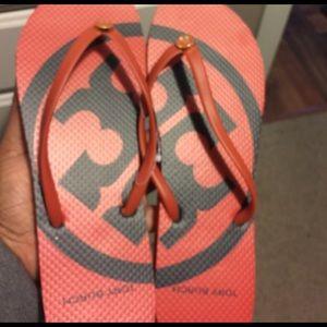Tory Burch Shoes - FINAL PRICE💄Auth Tory Burch Flip Flops