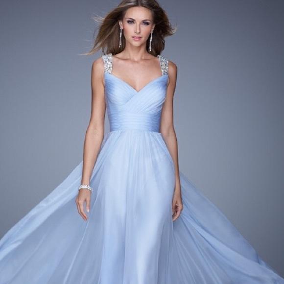 Powder Blue Prom Dress