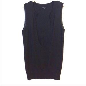 Theory Sweaters - Theory 100% Cashmere Sleeveless Deep Scoop Vest