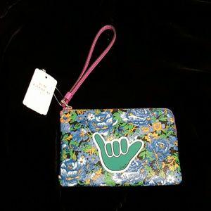 Coach Handbags - Coach Rose Meadow Corner Zip NWT