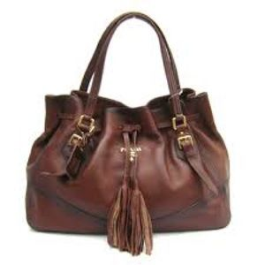 Prada Handbags - PRADA - Drawstring Tote