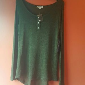 Green Sweater Sz M