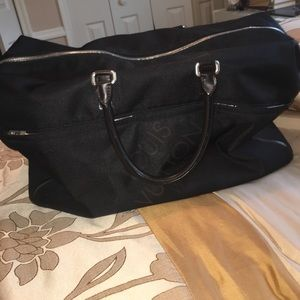 Louis Vuitton Black Duffle Bag