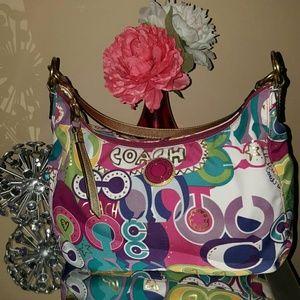 Coach Handbags - Authentic Coach Poppy C Hobo Bag