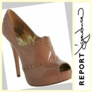Report Signature Shoes - Report Signature nude pumps