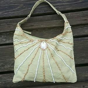 Handbags - Canvas hobo bag