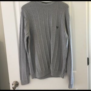 Other - 🕺🏻Host Pick⚡️⚡️Men's Grey CHAPS Sweater