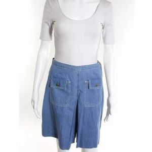 Whistles Pants - Whistles gaucho shorts Sz 6 blue
