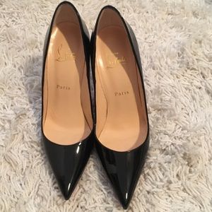 Christian Louboutin patent leather heels size 38.5
