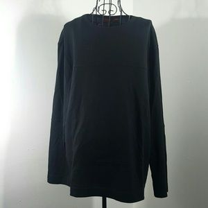 BOSS ORANGE Other - HUGO BOSS LARGE BLACK LONG SLEEVE SHIRT