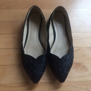 ollio Shoes - Ollio black pointed toe flats 7.5