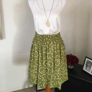 Corey Lynn Calter polka dot skirt