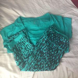 Zella Pants - Zella Workout outfit incl.shirt&reversible legging
