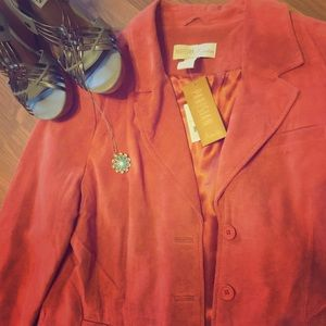 Jackets & Blazers - Parisian Suede Jacket *Make offer*
